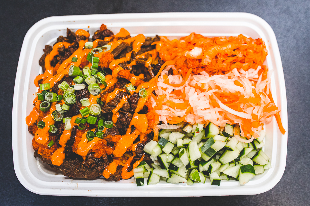 Big Ds Bulgogi Rice Platter