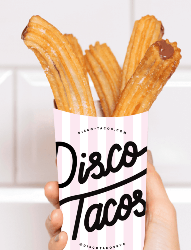 disco tacos mexican churros catering