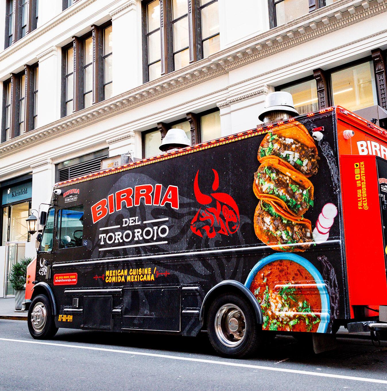 El Toro Rojo Taco Food Truck NYC