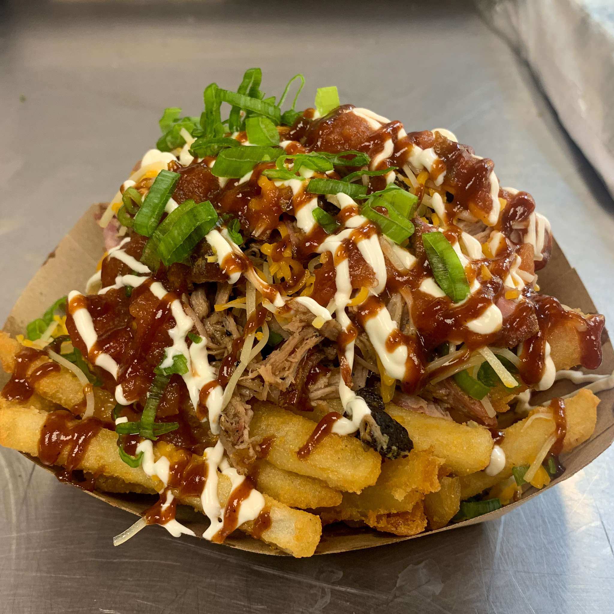 Empire BBQ NYC Pulled Pork Fries