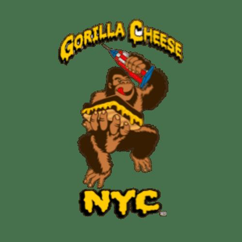 gorilla cheese nyc food truck logo
