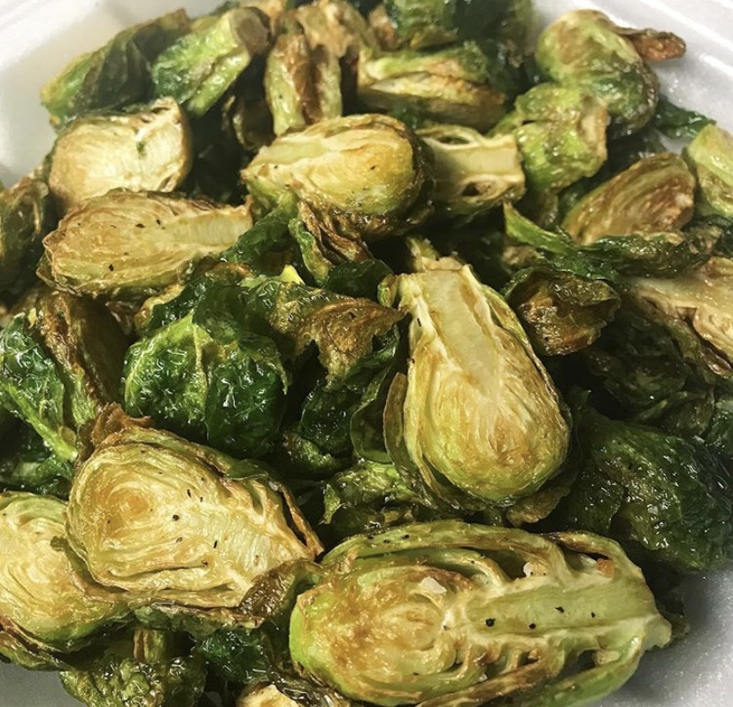 made from scratch food truck brussels sprouts