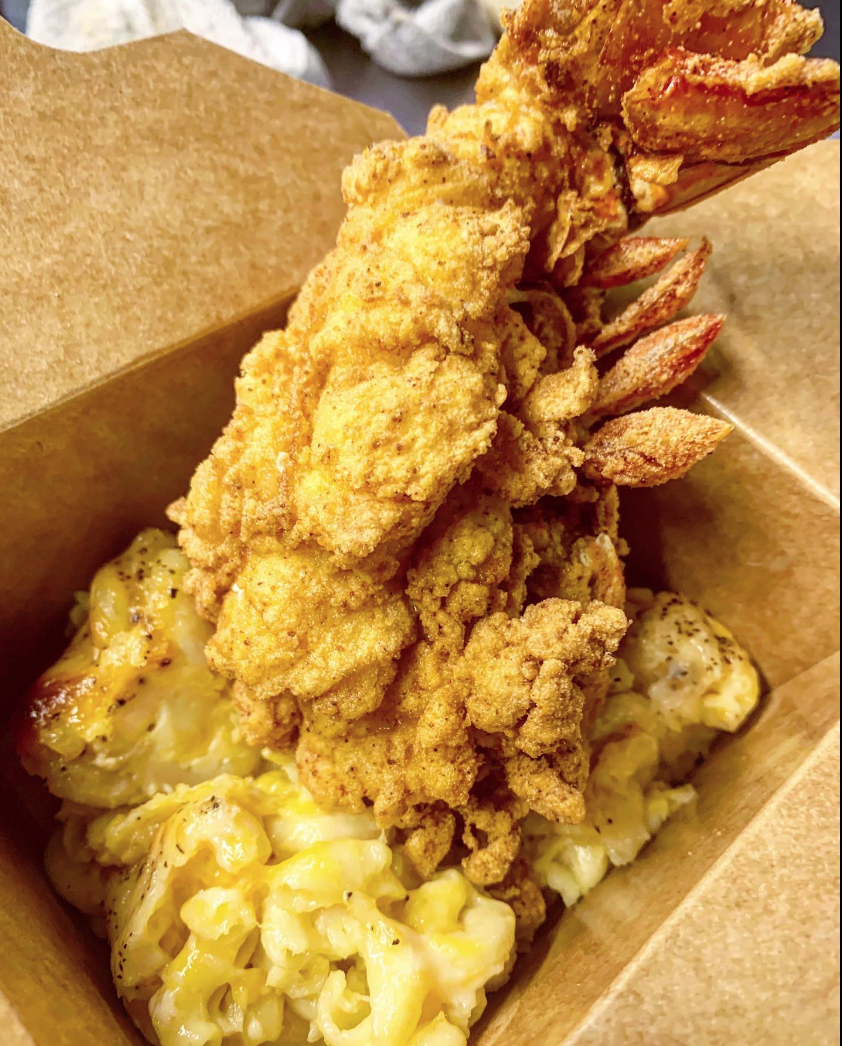 soul food food truck catering nyc lobster tail mac and cheese