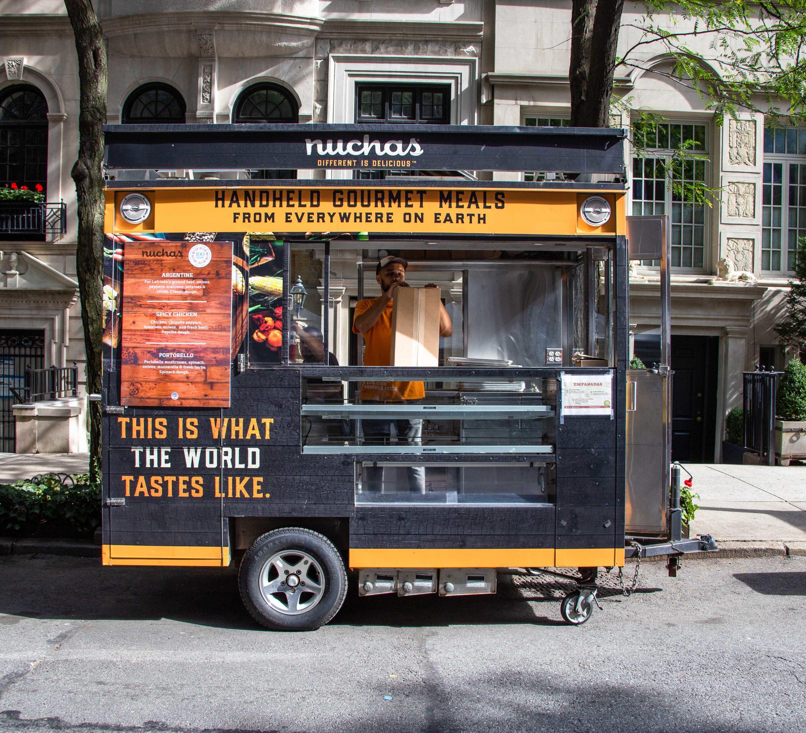 nuchas empanadas food cart catering nyc