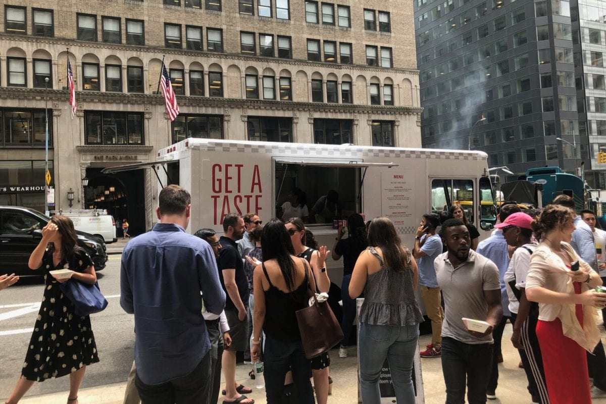 Welcome Employees Back to Work With Catering From New York Food Trucks