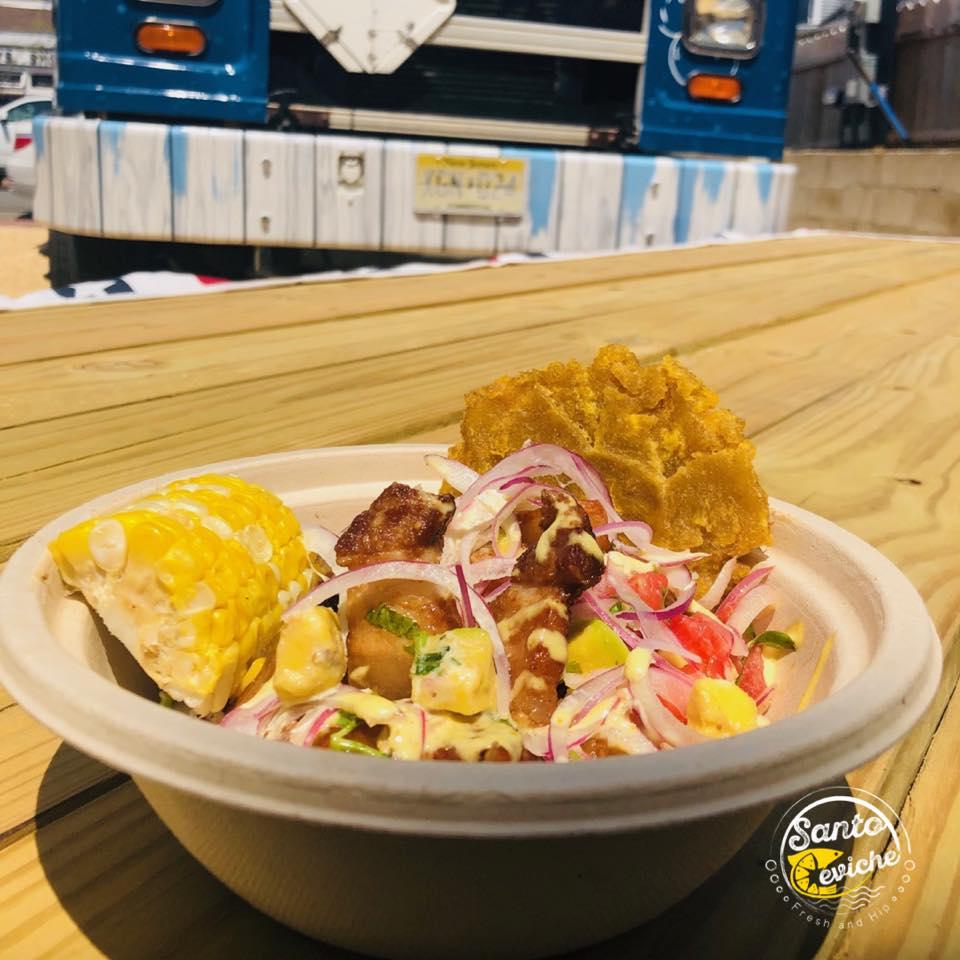 santo ceviche healthy food truck new york