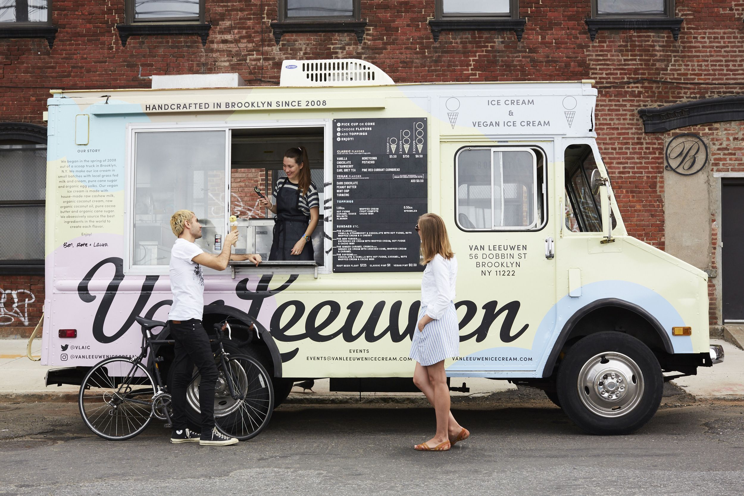 Van Leeuwen Ice Cream Food Truck Catering