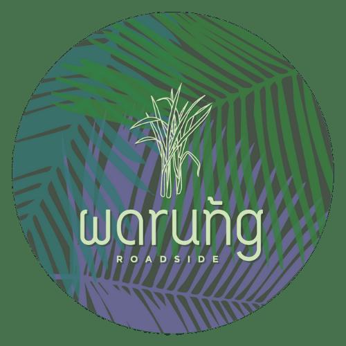 warung roadside thai food truck logo