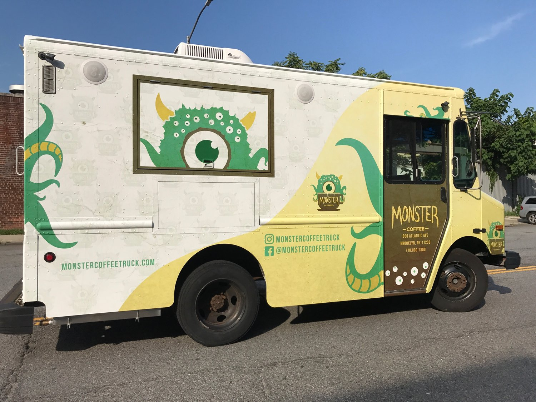 Monster Coffee Truck