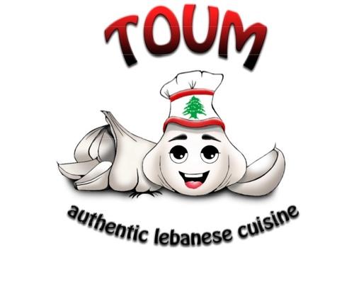 Toum Food Truck Logo