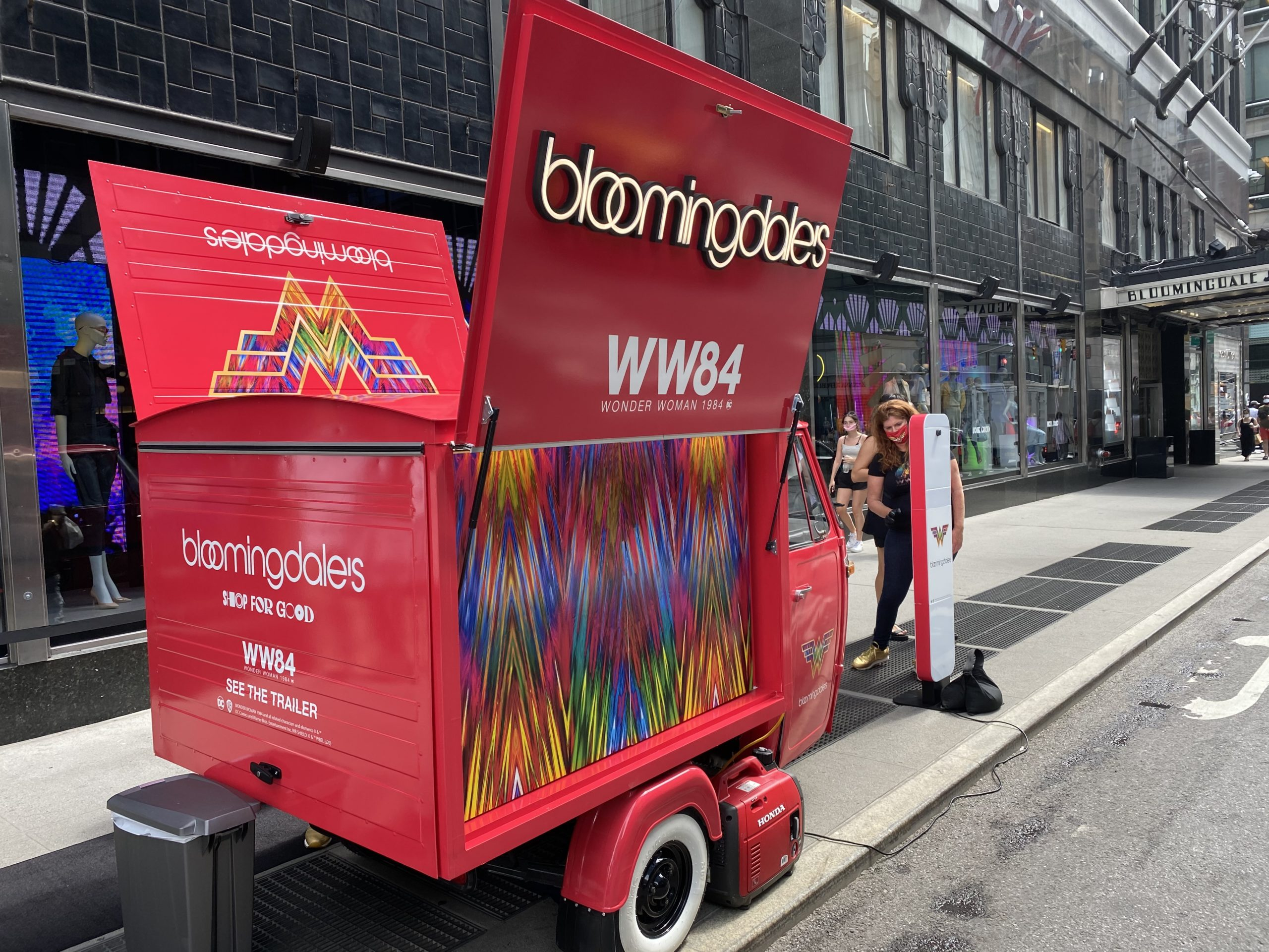 WW84 Bloomingdales Activation