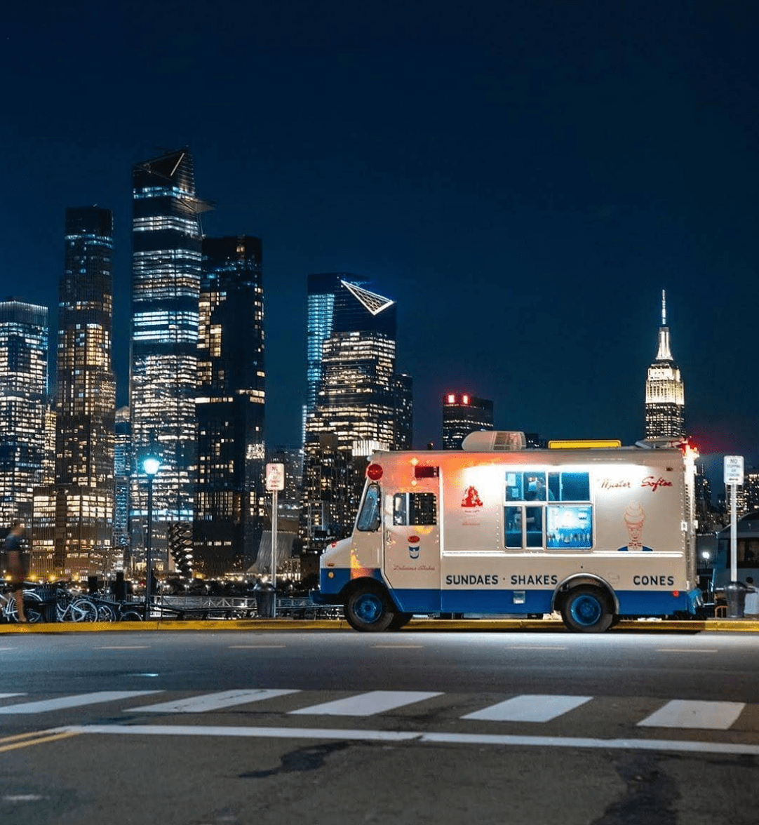 Mister Softee Truck New York