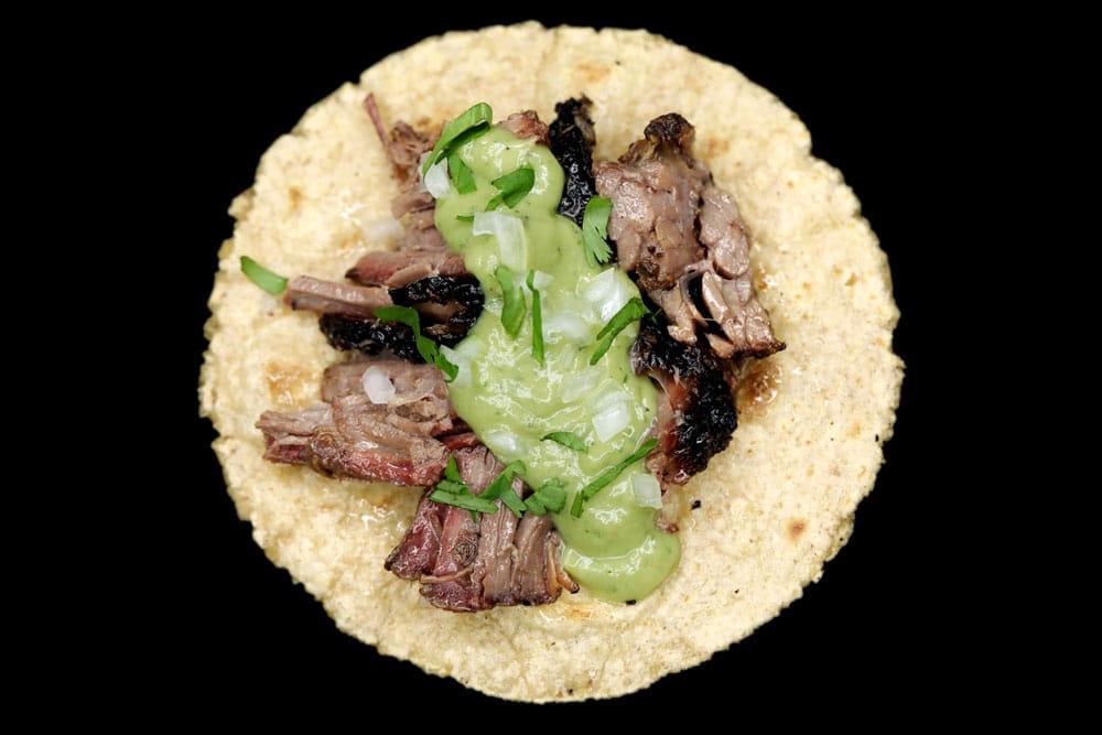 Carlitos Tacos Brisket Taco