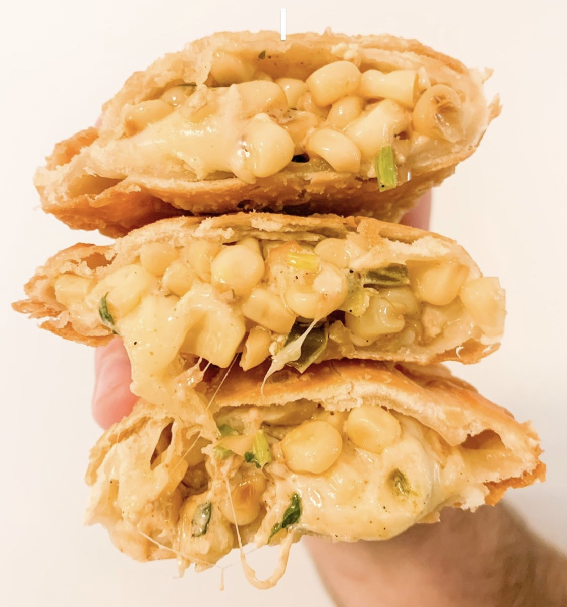 Mexican Street Corn Empanada