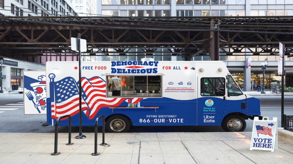 Pizza to the Polls Food Truck