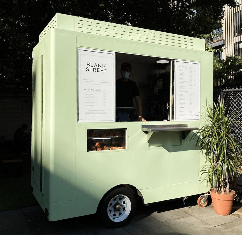 Blank Street Coffee Cart