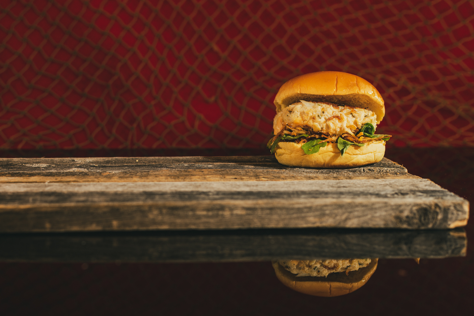 Angry Archie's Angry Crab Cake Sandwich