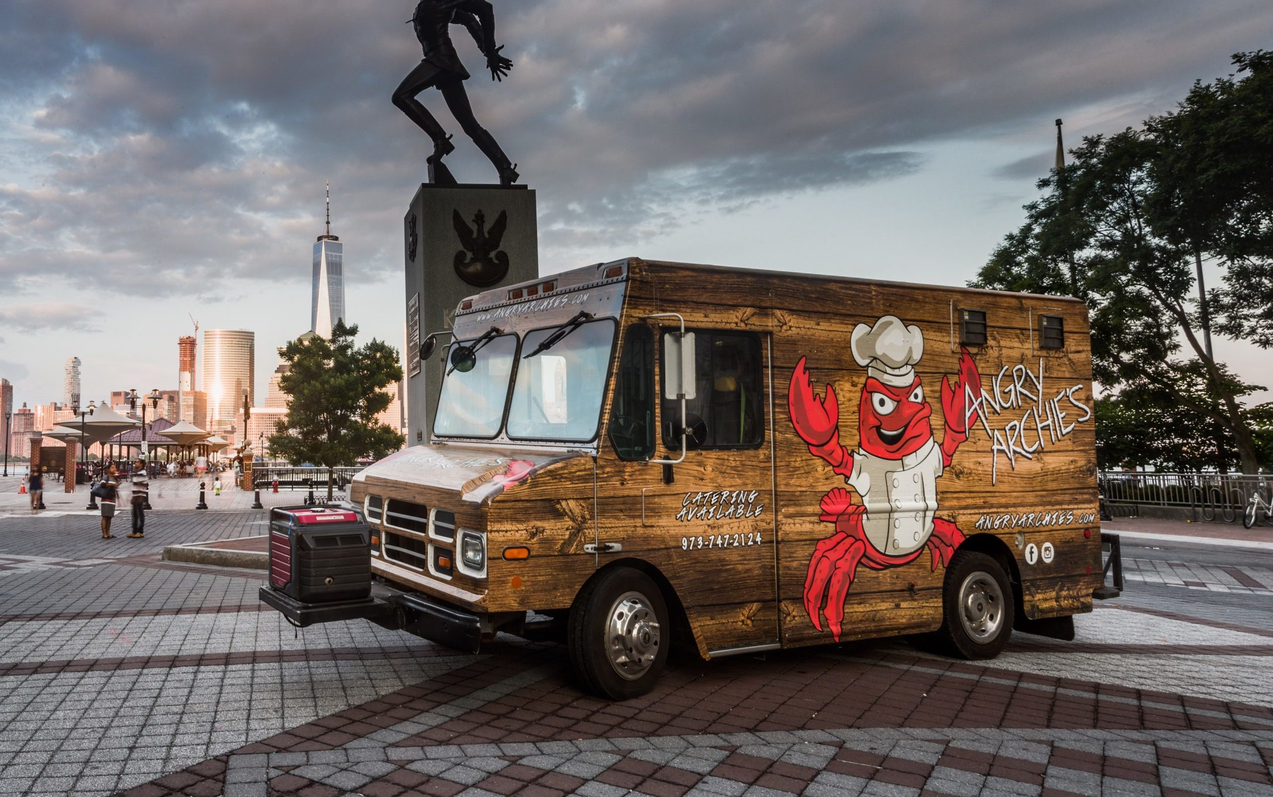 Angry Archies Food Truck Catering