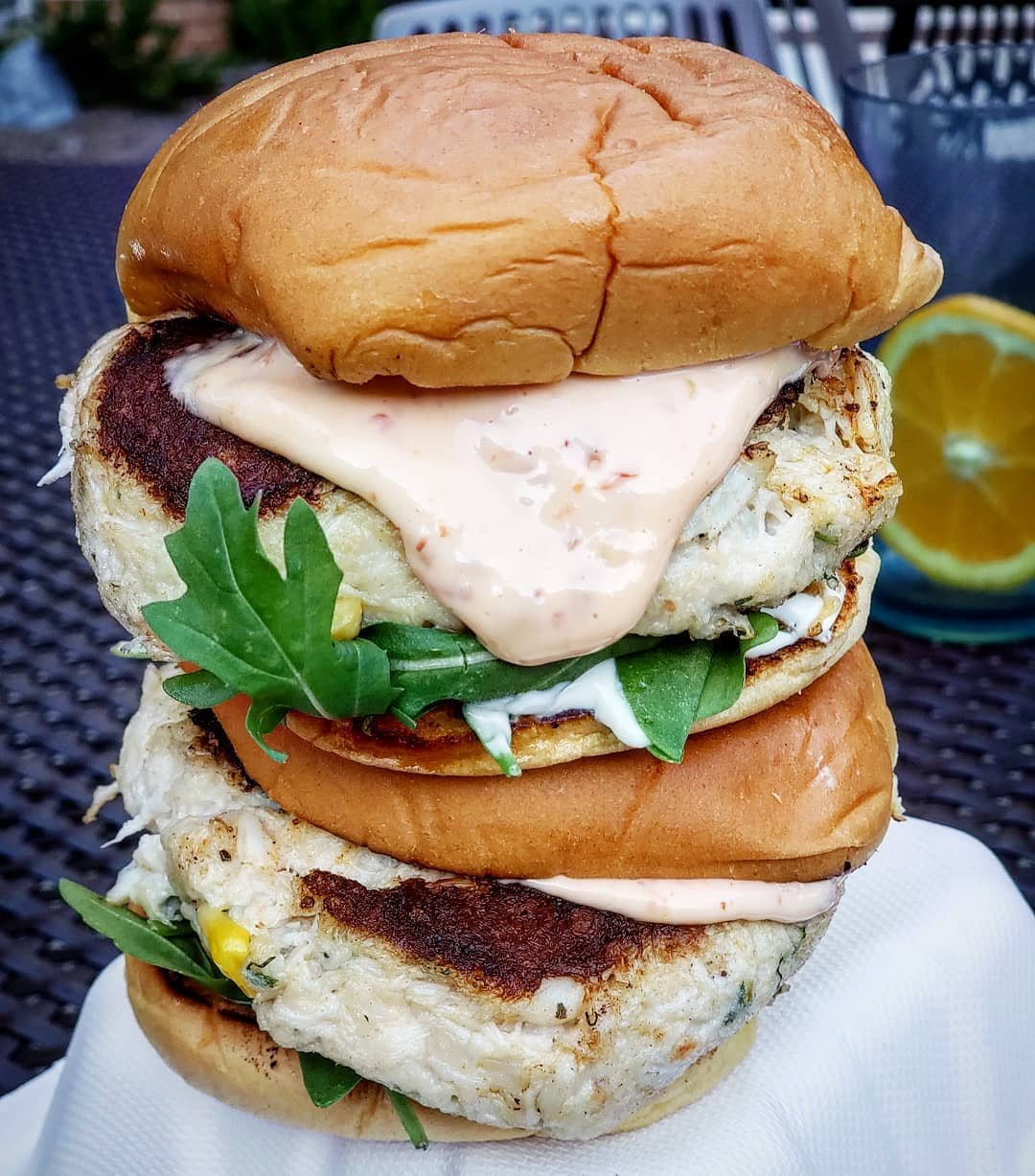 Crab Cake Food Truck Catering
