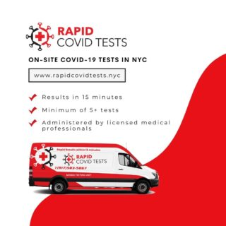 New York Food Truck Association is excited to announce that we are partnering with Rapid Covid Tests to administer on-site testing in the greater NYC area and promote the health and safety at large gatherings, such as weddings, corporate conferences, sporting events, and more. Head to the link in our bio for more information on how to book your on-site COVID testing for your next event, or visit www.rapidcovidtests.nyc.