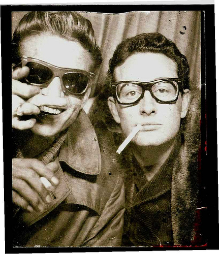 photo-of-buddy-holly-and-waylon-jennings-in-grand-central-phone-booth-circa-1959