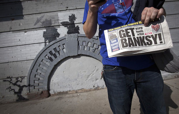Banksy Does New York A Exclusive Sneak Peek Of The 'Better Out Than In' Documentary