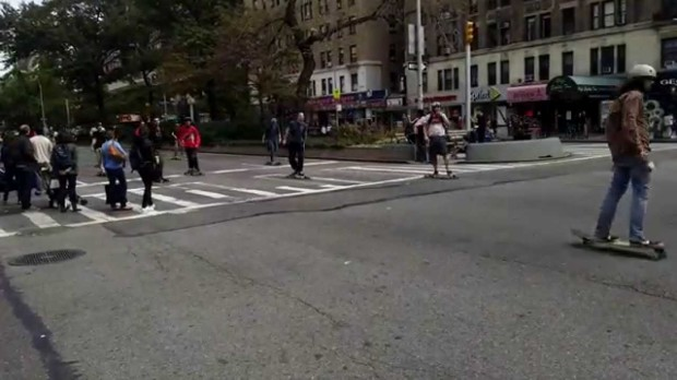Broadway Bomb 2014 Takes Over Manhattan Streets