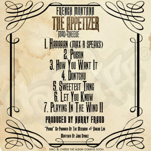 French Montana & Harry Fraud The Appetizer EP