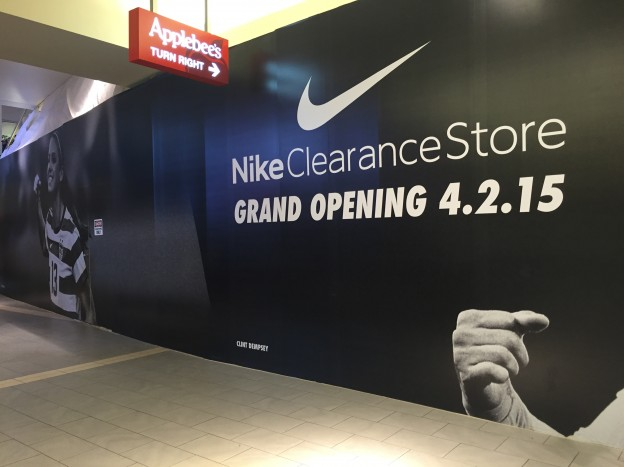 Nike Outlet Opening In New York City