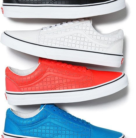 Supreme x Vans Summer 2015 Old Skool Collection