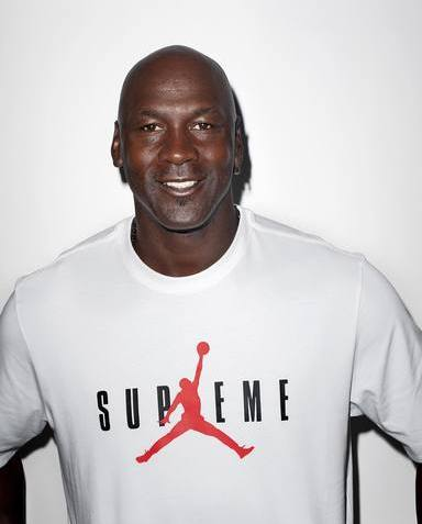 Michael Jordan For Supreme x Jordan T-Shirt