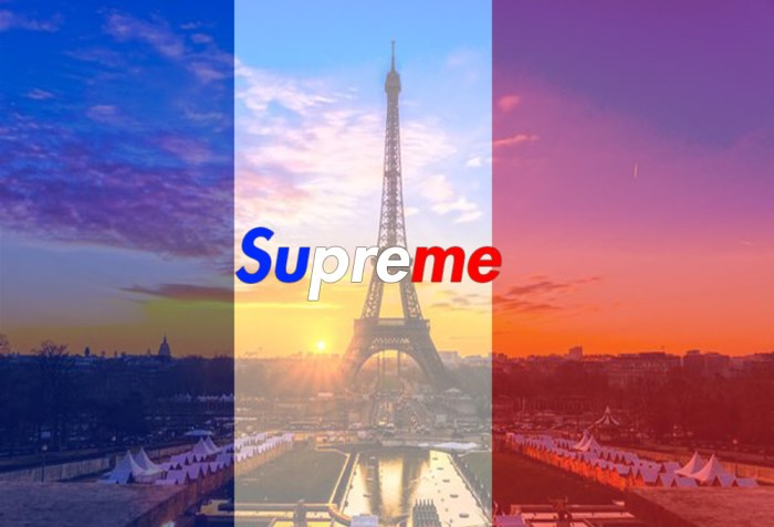 Supreme's Second European Store In Paris Rumored To Be Opening Soon
