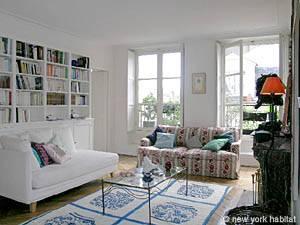 Paris Accommodation 1 Bedroom Apartment Saint Germain Des Pres Pict Pa 3445