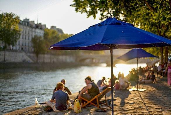 Paris Plages 2012 Stadtstrnde in der Stadt der Lichter  New York Habitats Blog