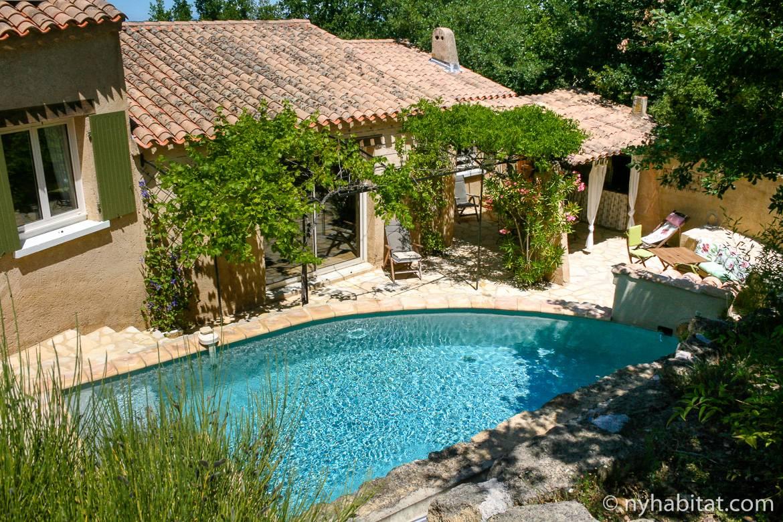 6 case vacanza con piscina nel sud della Francia  Il Blog di New York Habitat