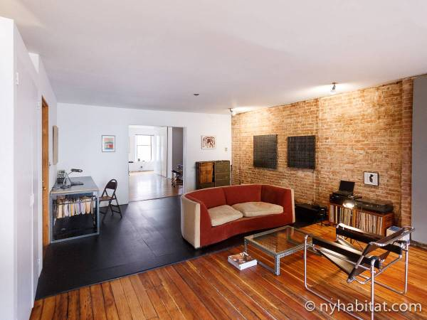 zillow design living room ideas New York Apartment: 1 Bedroom Loft Apartment Rental in