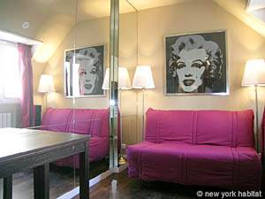 Paris Studio apartment - living room (PA-3563) photo 1 of 4