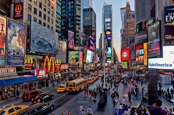 Explora Times Square en la ciudad de Nueva York  El