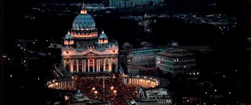 """De fleste av de store protestantiske ledere, så som Luther, Melancton, Wycliffe, Calvin, Wesley, Finney, Moody, Spurgeon m.fl. hevdet at den Katolske institusjon er """"Mor til skjøgene og til stygghetene på jorden."""" Åpenbaringen 17, beskriver ikke det gamle Babylon, men det Vatikanet vi har idag..."""