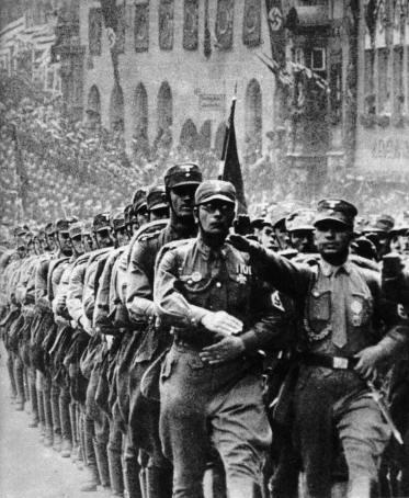 Nazistene banket opposisjonen helseløs slik at de ikke lenger våget å opponere