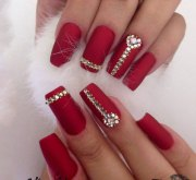 bridal nail art design- wedding