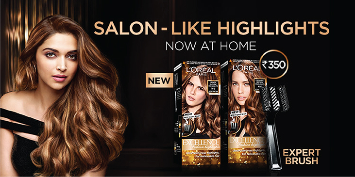 LOreal Paris Excellence Fashion Highlights Hair Color at Nykaacom