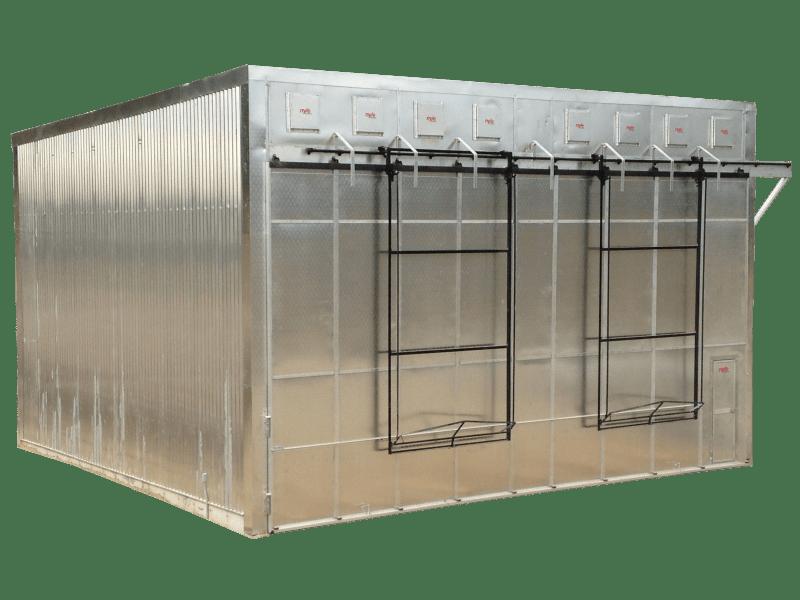 Refrigerator Wood Kiln