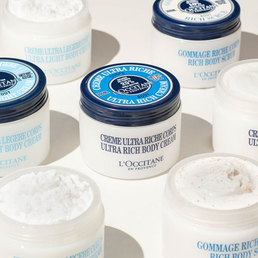 Shea Ultra Rich Body Cream, $72, is available at all L'OCCITANE stores and online.