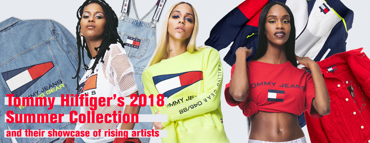 tommy hilfiger summer collection