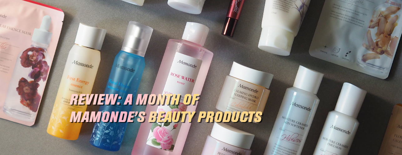 Review: I Tried A Full Face Of Mamonde For A Month