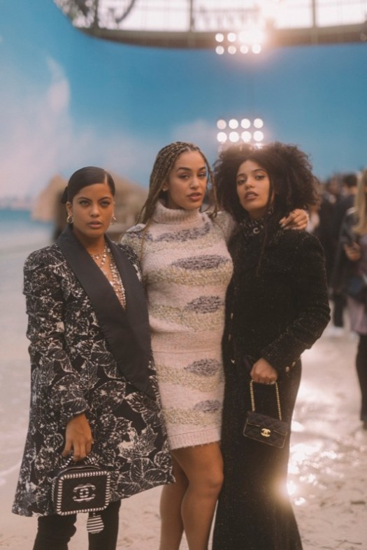 IBEYI with Jorja Smith, Chanel Spring Summer 2019 Ready to Wear Collection
