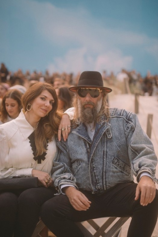 Amandine de La Richardière and Sébastien Tellier, Chanel Spring Summer 2019 Ready to Wear Collection
