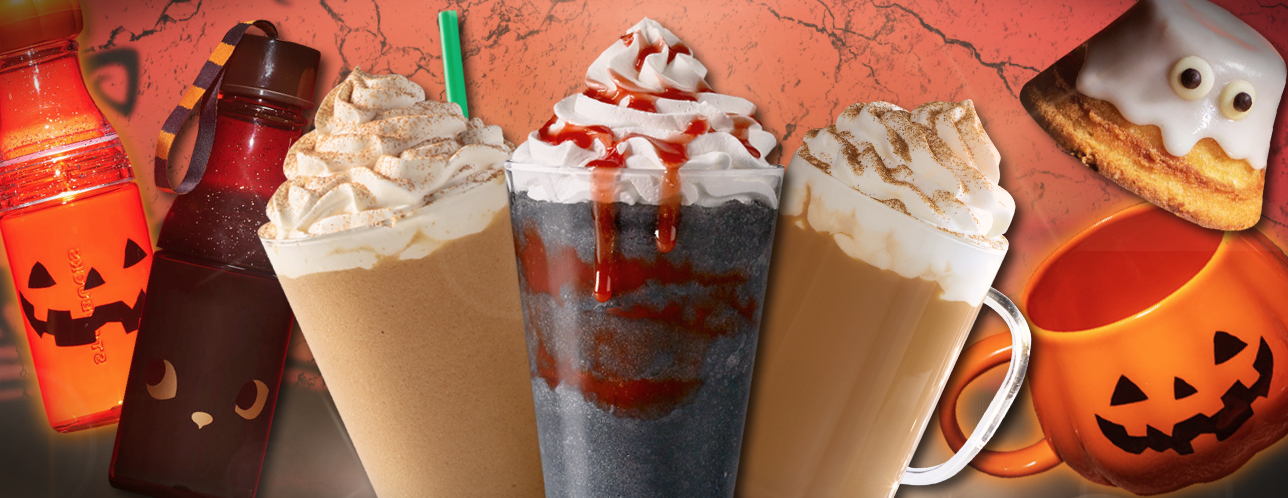 We Re Freaking Out Over Starbucks New Zombie Frappuccino