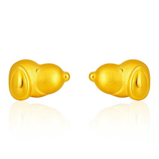 999 Pure Gold Snoopy Earrings (S$309)